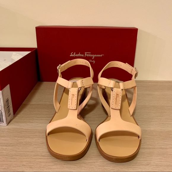 c940ada3a Salvatore Ferragamo Shoes | Blush Pink Sandals | Poshmark